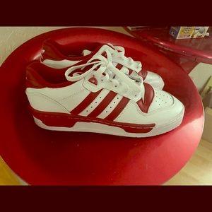 Red/white adidas